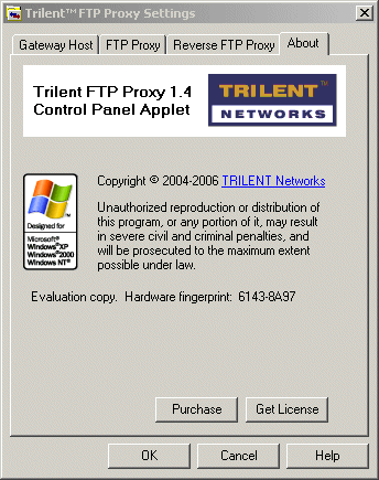 Trilent FTP Proxy Screenshot 1