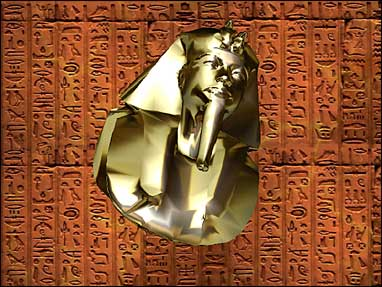 Golden Tut 3D Screensaver Screenshot 1