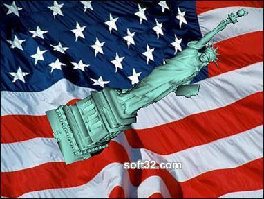 Statue of Liberty 3D Screensaver Screenshot 3