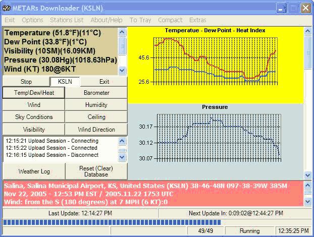 METARs Downloader Screenshot