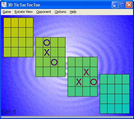 TicTacTocToe Screenshot