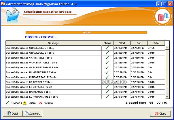 SwisSQL - Data Migration Tool Screenshot 2