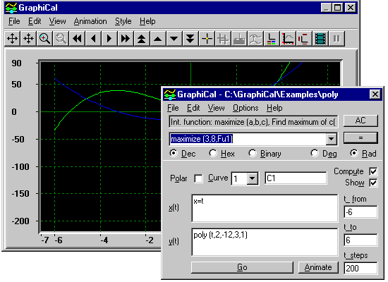 GraphiCal Screenshot