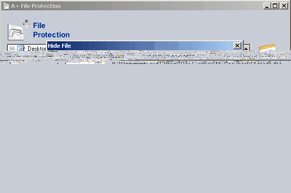 A+ File Protection Screenshot 1