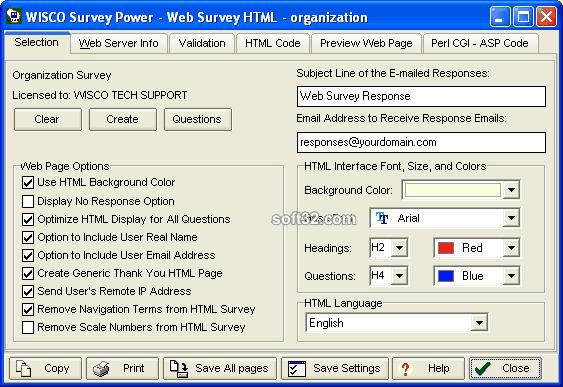 Survey Power Screenshot 2