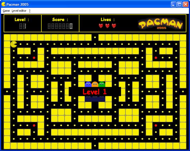 Pacman 2005 Screenshot