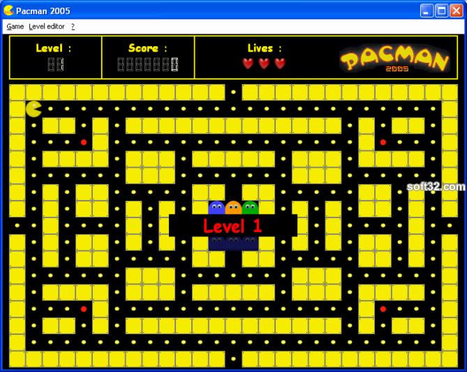 Pacman 2005 Screenshot 2