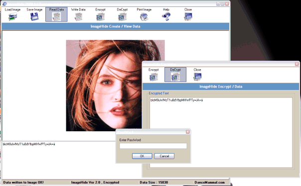 ImageHide Screenshot