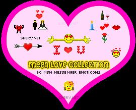 Love Emoticons Screenshot 1