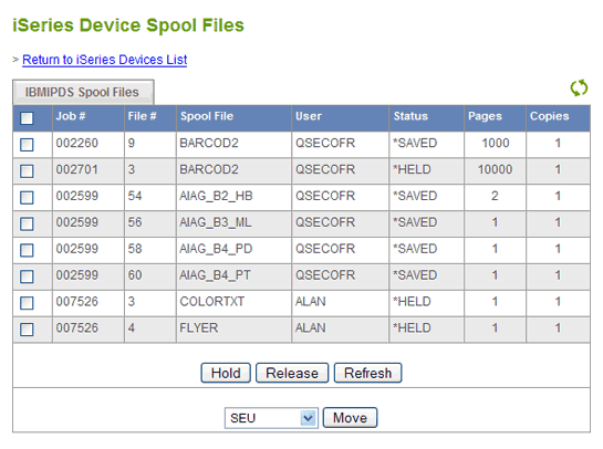 ExcelliPrint IPDS Print Server Screenshot 1