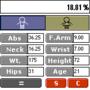U.S. Army Body Fat % Calculator 1