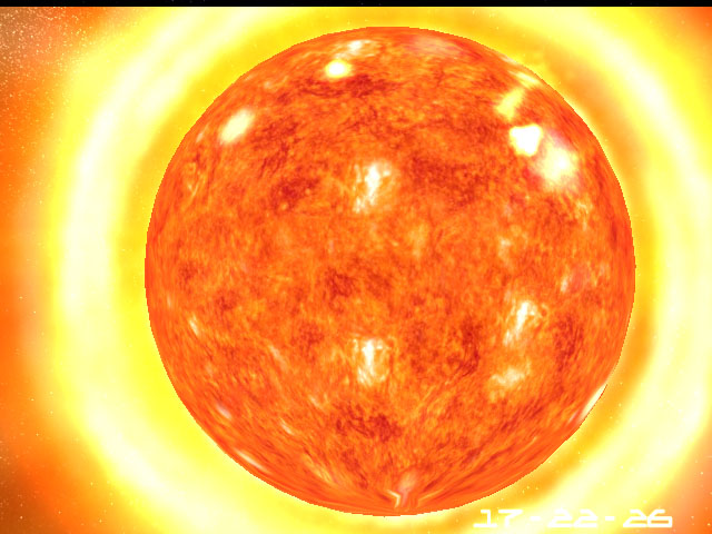 Sun 3D Screensaver Screenshot
