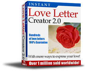 Romantic Love Letters Free Sample Screenshot