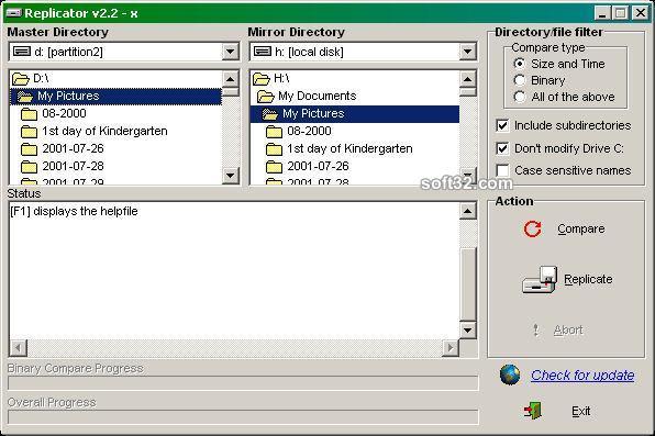 Directory Replicator Screenshot 3