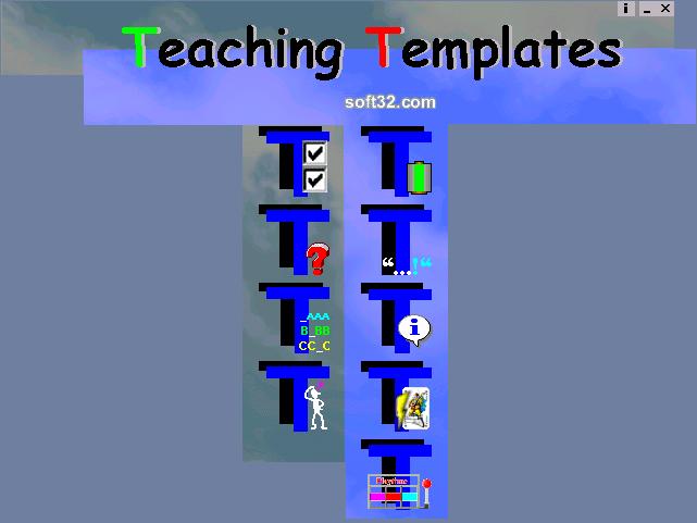 Teaching Templates Screenshot 3
