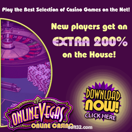 Online Vegas Casino Screenshot 1