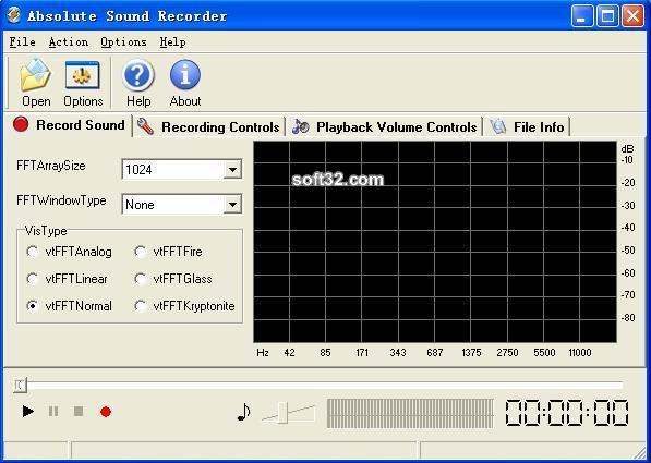 Absolute Sound Recorder Screenshot