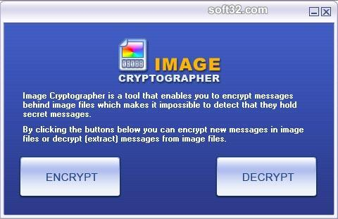 Image Cryptographer Screenshot 1
