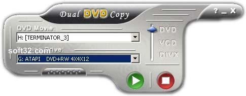 dual DVD copy Gold Screenshot 1
