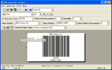 IBE Barcode Studio Screenshot 3