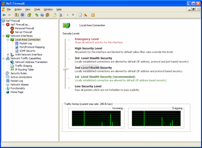 NeT Firewall Screenshot 4