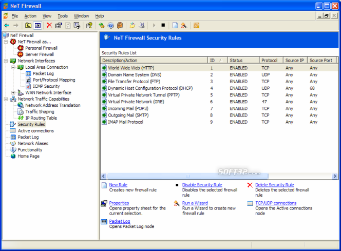 NeT Firewall Screenshot 9