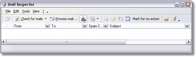 Mail Inspector Screenshot