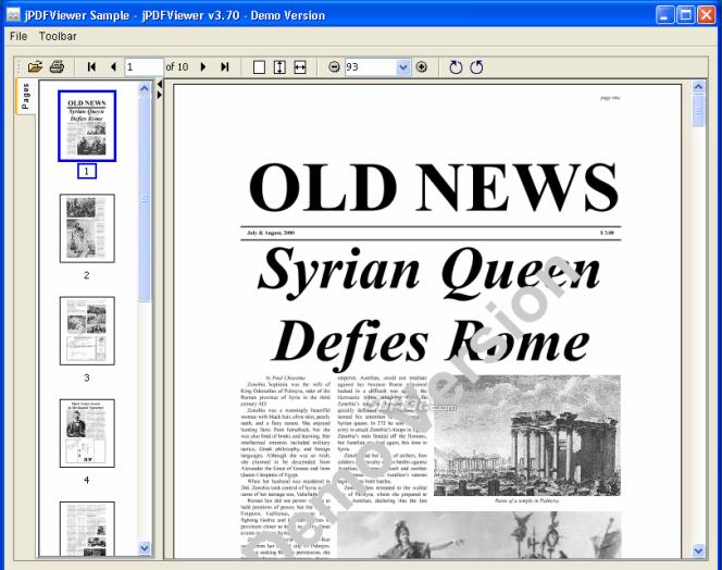 jPDFViewer Screenshot 3