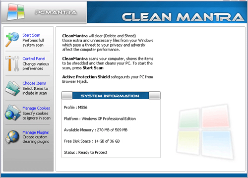 CleanMantra Screenshot