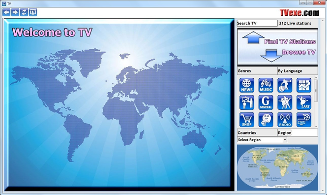 TVexe TV HD Screenshot 1