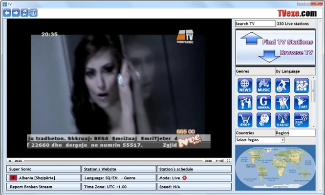 TVexe TV HD Screenshot 4