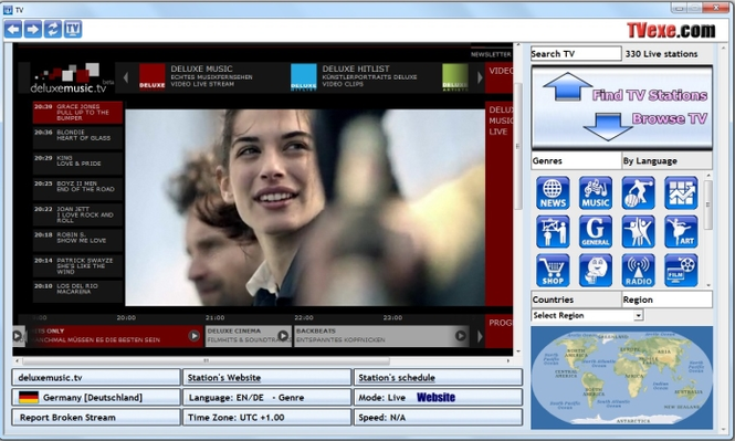 TVexe TV HD Screenshot 2