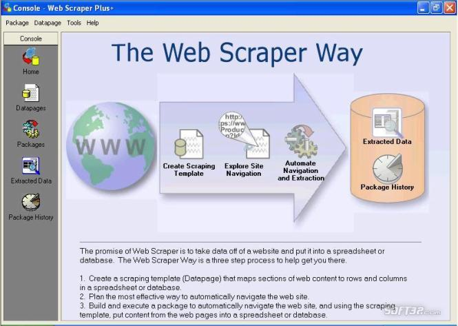 Web Scraper Plus+: Web Spider Edition Screenshot