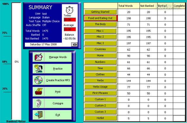 WordBanker Learn Arabic Screenshot 3