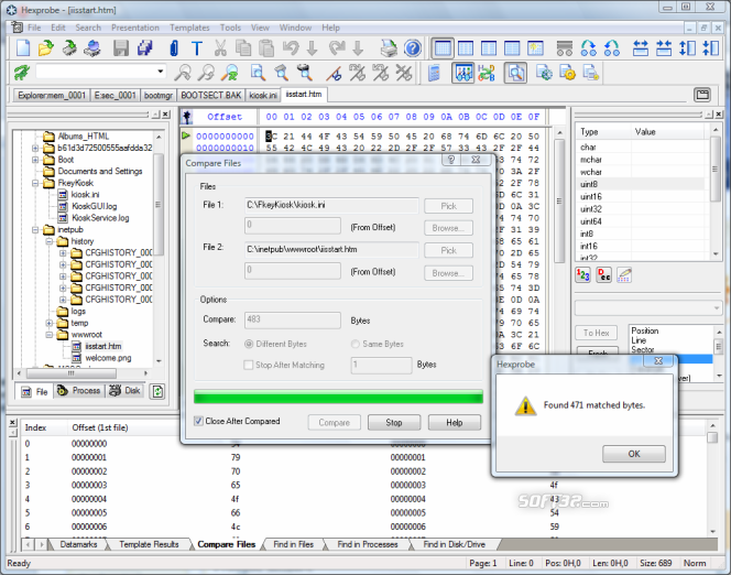 Hexprobe Hex Editor Screenshot 2