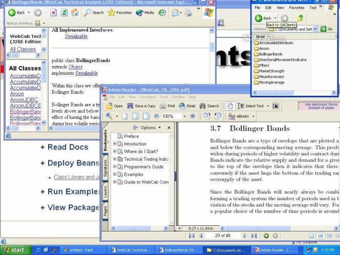 WebCab TA (J2SE Community Edition) Screenshot 2
