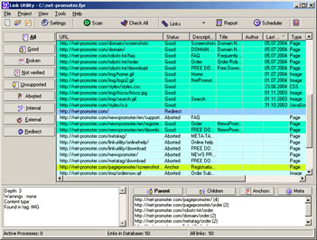 Link Utility Screenshot