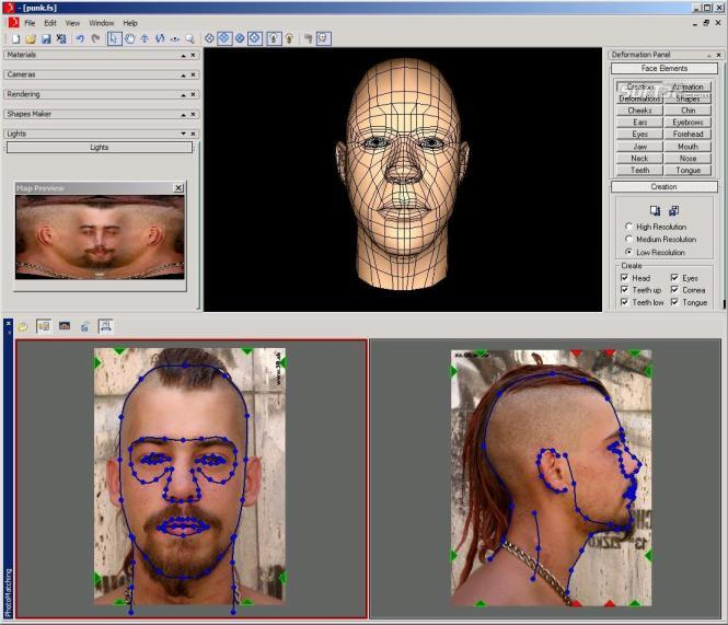 Facial Studio for Windows Screenshot 4