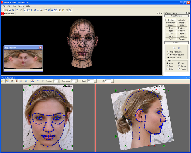 Facial Studio for Windows Screenshot 2