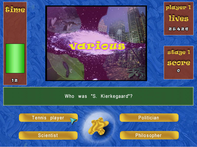 Quizland (PocketPC) Screenshot