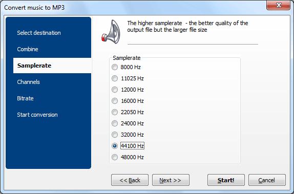 Total Audio Converter Screenshot 3