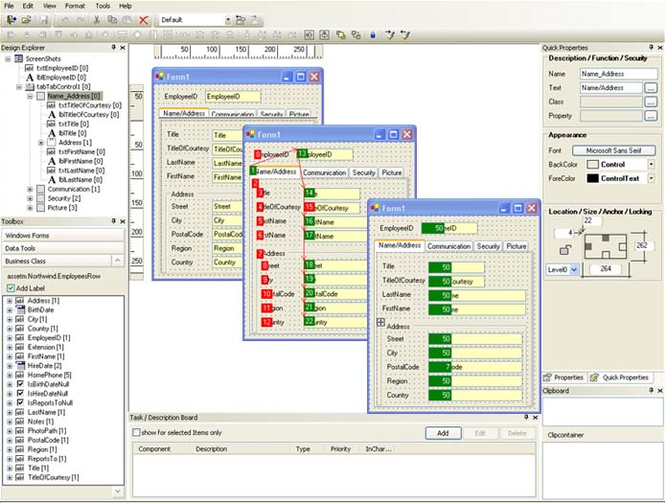 form.suite4.net Form Designer Screenshot