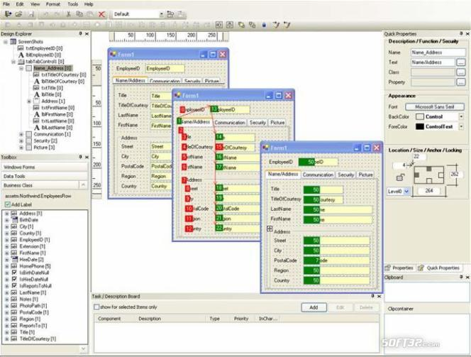 form.suite4.net Form Designer Screenshot 3