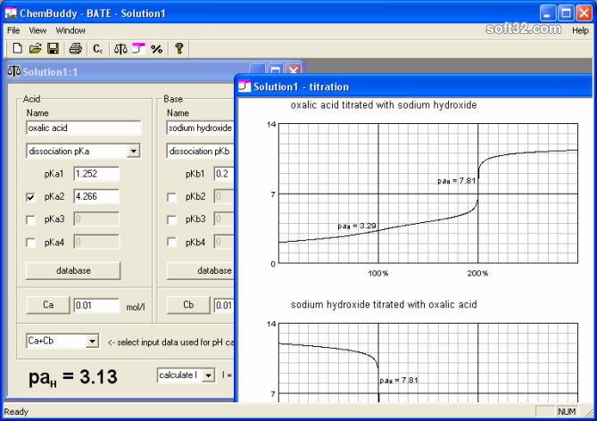 BATE pH calculator Screenshot 3