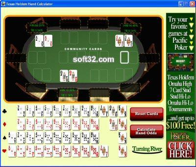 Texas Holdem Hand Calculator Screenshot 3