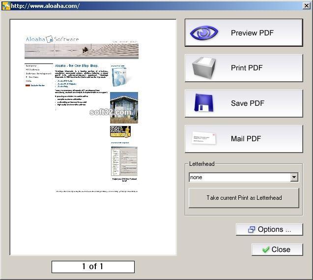 Aloaha PDF Suite Screenshot 3