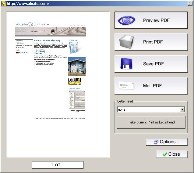 Aloaha PDF Suite Screenshot 1
