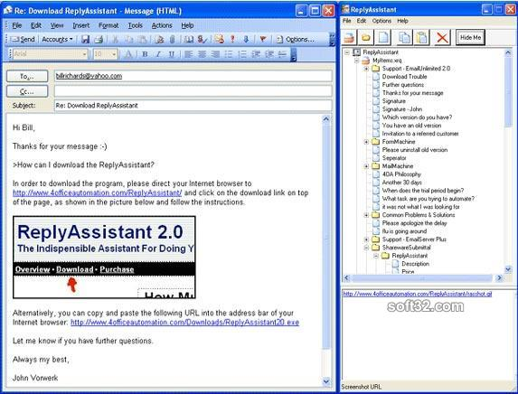 ReplyAssistant Screenshot