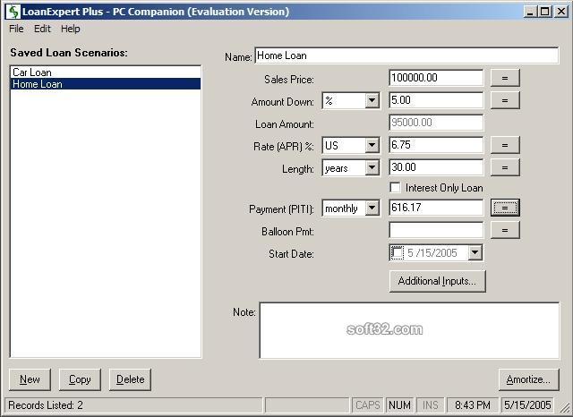 LoanExpert Plus Screenshot 3