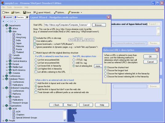 Xtreeme SiteXpert Standard Edition Screenshot 2
